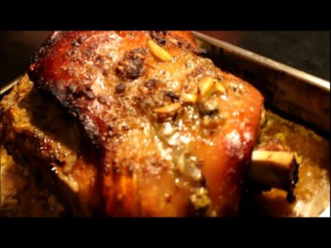 Pennill (Pork Shoulder) Spanish Style