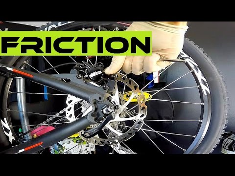 How To Adjust Disc Brakes - Braking Pads Rubbing Against The Rotor. Bike Maintenance