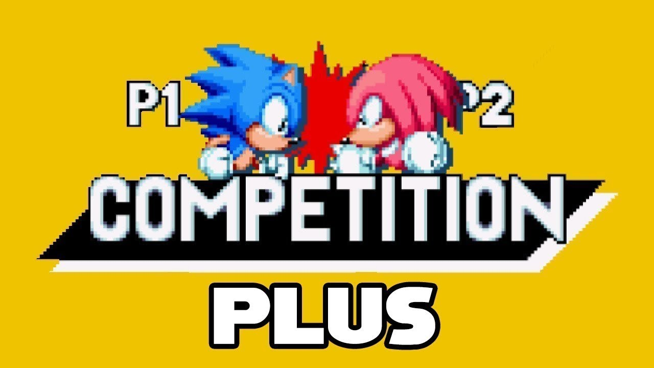 Sonic Mania Competition PLUS V2 [Sonic Mania] [Mods]