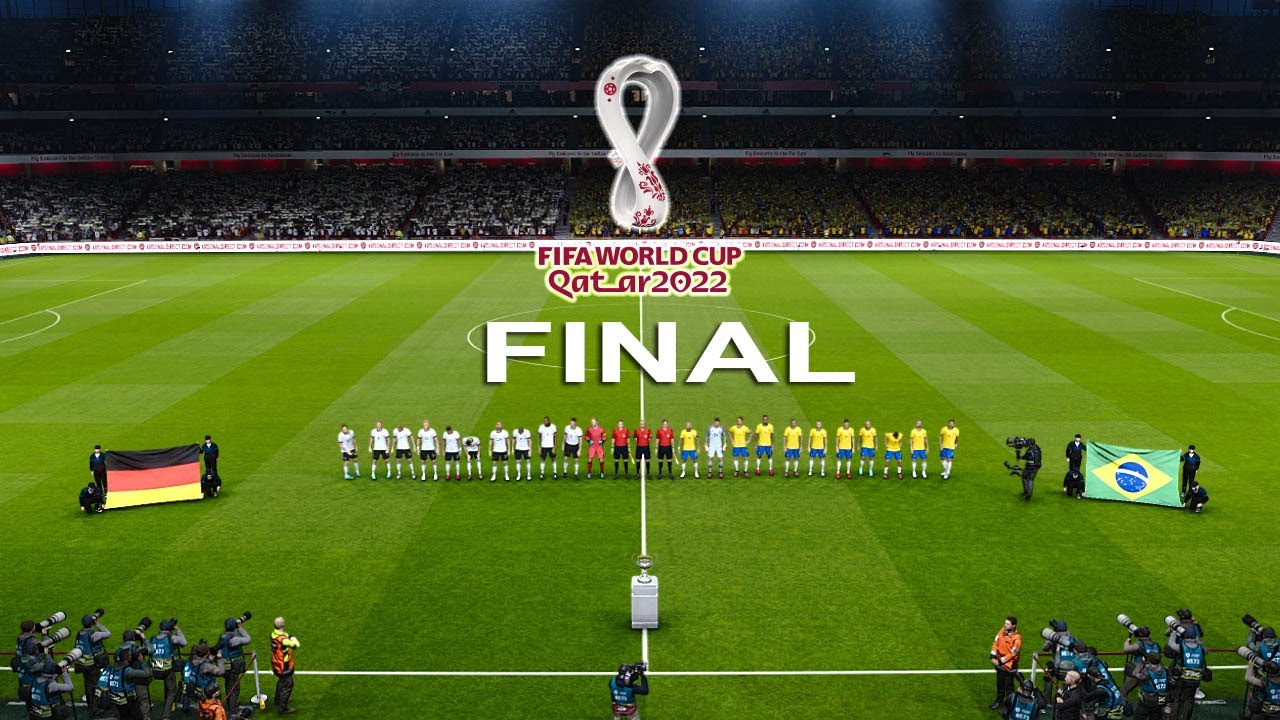 Download PES 2020 - FINAL Germany vs Brazil - FIFA World Cup 2022 - Full Match - All Goals HD