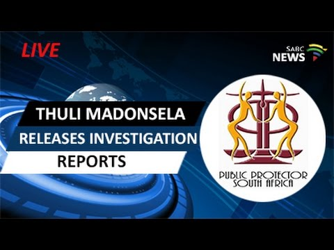 Thuli Madonsela releases investigation reports in Pretoria