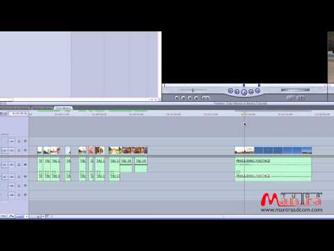 LEARN Video Editing Tutorial in Hindi - FCP Advancd Working with Timeline