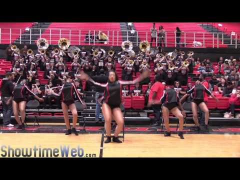 Proviso West vs King College Prep Marching Band - 2016 Proviso West BOTB