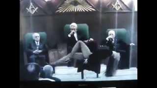 Masonic lodge satanic dance ritual