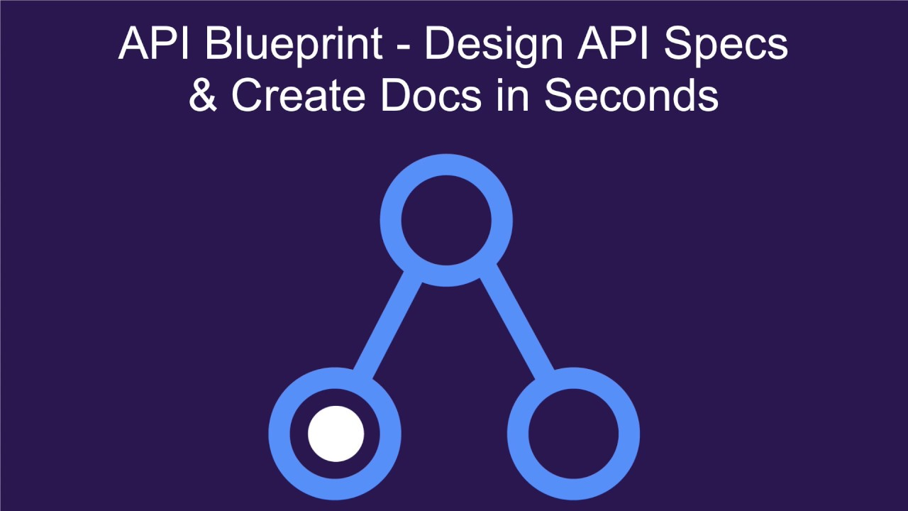 Api blueprint design api specs create api docs in seconds youtube api blueprint design api specs create api docs in seconds malvernweather Image collections