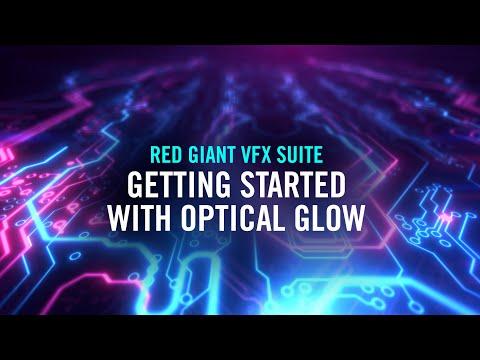 Red Giant VFX Optical Glow Tutorial #gettingstarted - Toolfarm