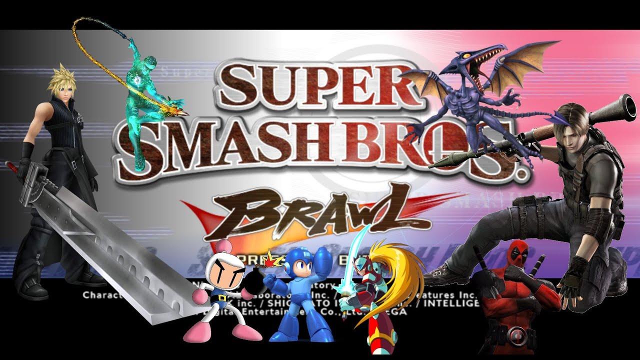 download super smash bros brawl mods