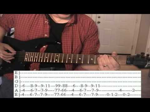 She's Country by Jason Aldean standard tuning guitar lesson