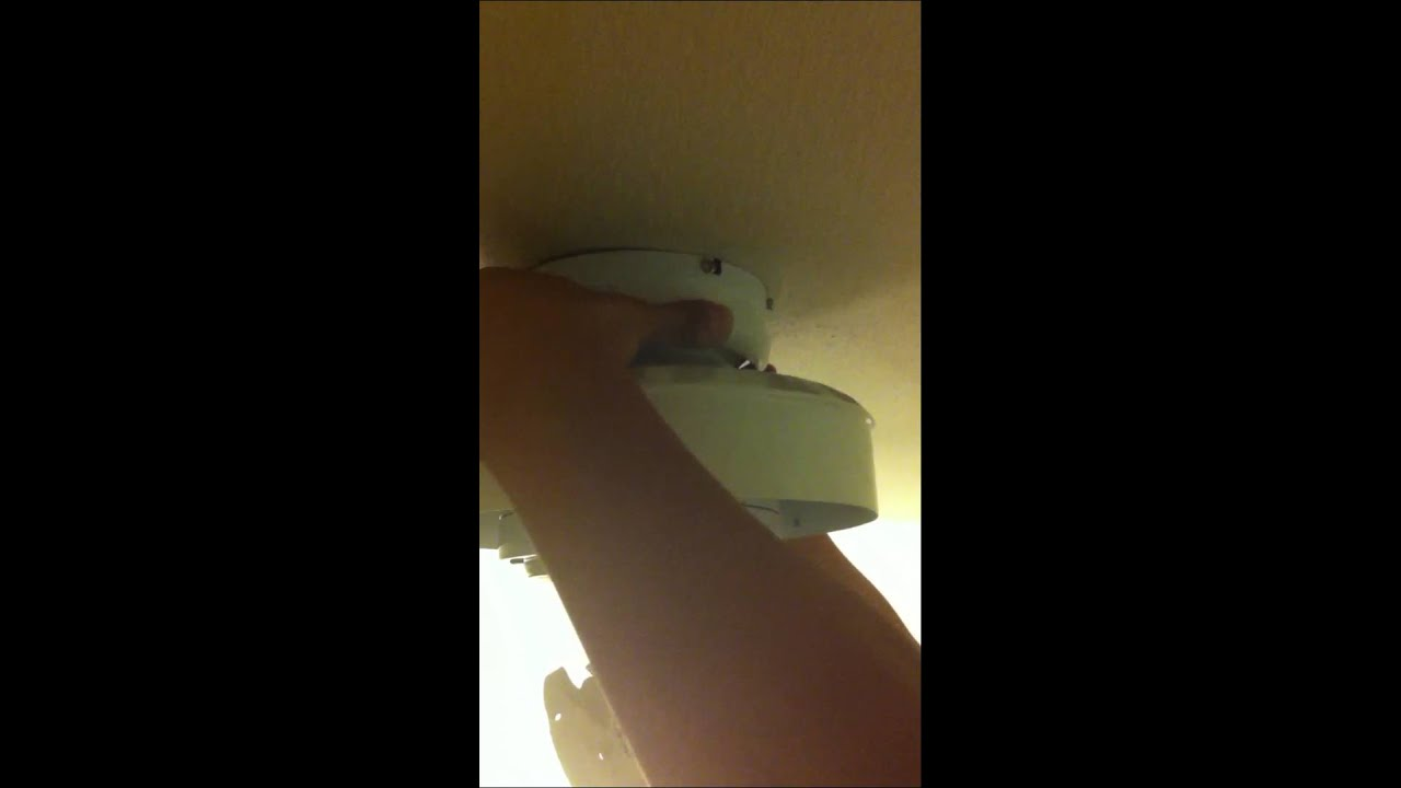 Hampton bay ceiling fan removal youtube hampton bay ceiling fan removal aloadofball Gallery