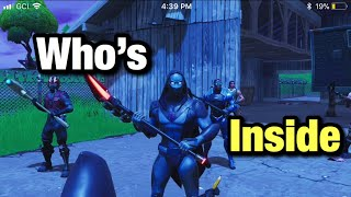 Who's Inside The Omen Skin? Fortnite Battle Royale