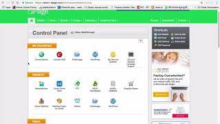 Как разместить ваш сайт на вашем веб-хостинге  ipage хостинг
