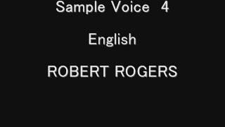 ROBERT ROGERS ボイスサンプル ロバートロジャー CM ナレーション アフ...