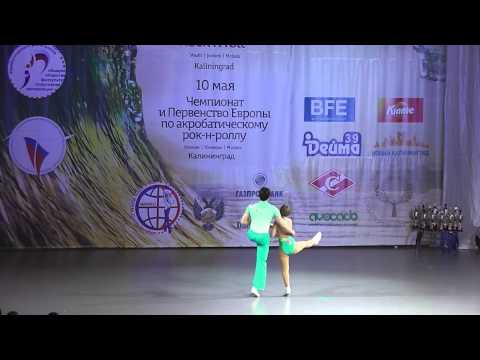 KLIMOV Ivan - TIKHONOVA Ekaterina, Final - Acrobatic, Rock 'n' Roll-Main Class