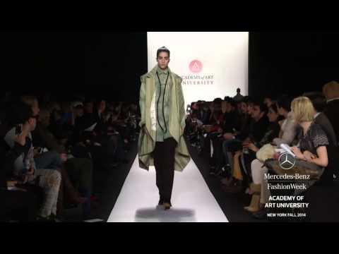 """ACADEMY OF ART UNIVERSITY"" New York Fashion Week Fall Winter 2014 2015 by Fashion Channel"