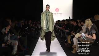 """ACADEMY OF ART UNIVERSITY"" New York Fashion Week Fall Winter 2014 2015 by Fashion Channel"