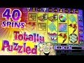 Totally Puzzled 40 Spins Bonus BIG WIN !!! - 5c IGT  Video Slots