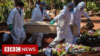 Coronavirus: Brazil's daily death toll hits 1,000 for first time - BBC News