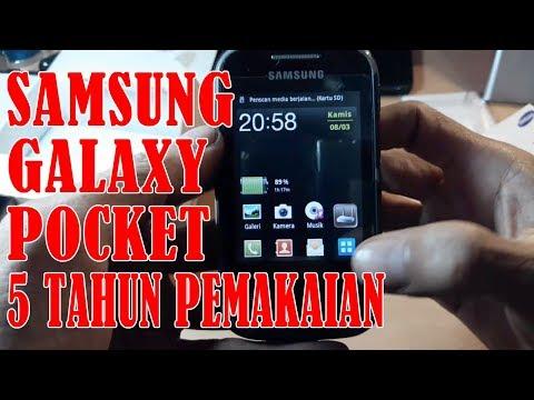 Review Samsung Galaxy Pocket GT-S5300 - 5 Tahun Pemakaian