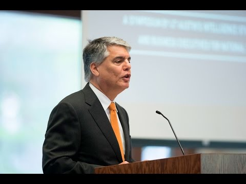 ISP Symposium: Welcome by UT Austin President Gregory Fenves
