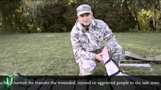 Раскладушка-носилки военная турестическая CAMP BED-STRETCHER