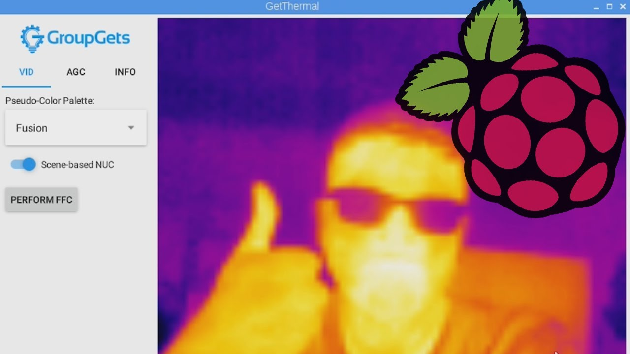 How to install GetThermal on a Raspberry Pi