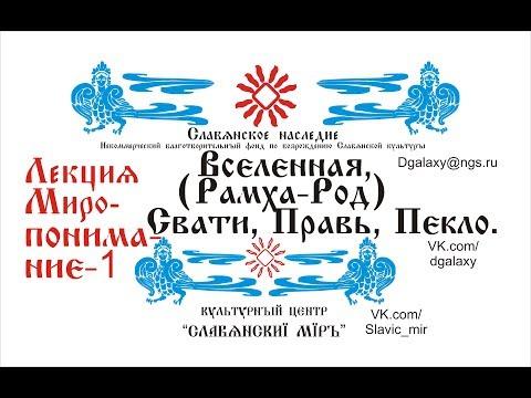 Боги Славян (почему нас покинули?) Миропонимание 1 (Рамха, Род, Правь, Пекло, Земля).