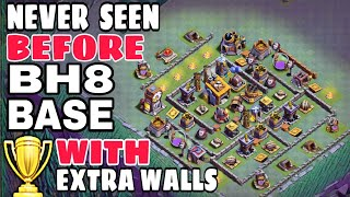 BEST BUILDER HALL 8 BASE w/160 WALLS | 160 WALLS BH8 BASE w/PROOF | 2018 New Update Bh8 Base