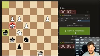 Magnus Carlsen streams playing the Lichess Titled Arena June 2020
