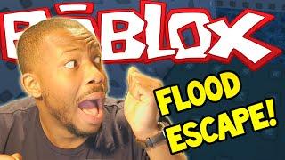 ROBLOX: FLOOD ESCAPE! - Ich bin TRAPPED! - Teil (1)