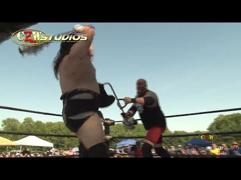 CZW Tournament of Death 16: Jimmy Lloyd gets weed whacked! (CZWstudios.com)