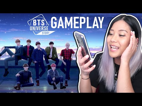 BTS Universe Story GAMEPLAY EP 1-5 [Reaction/Let's Play] from YouTube · Duration:  19 minutes 49 seconds