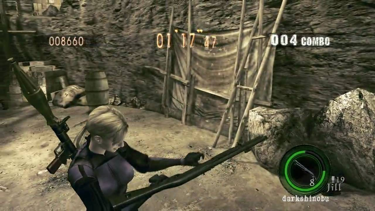 how to open inventory in resident evil 4