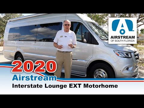 Airstream 2020 Interstate Lounge EXT Motorhome