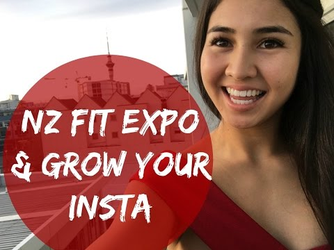 NZ Fitness Expo 2016 + Grow Your Instagram Tips