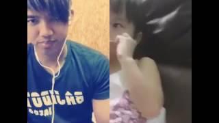 Gadis kecil Hongkong umur 3 thn nyanyi lagu kelangan duet dgn Riza azizie,,lucu ngegemesin pokoknya.