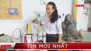 Nữ sinh lớp 11 sáng chế hệ thống biến nước nhiễm phèn thành nước sạch