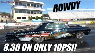 This F1X Procharged Oldsmobile 442 Is A Gangsta! American Racing Headers