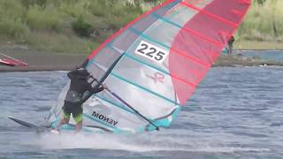 2018,8,14  ウインドサーフィンin本栖湖FANビーチ3 2018,8,14 Windsurfing in Motosu lake FAN Beach3 thumbnail