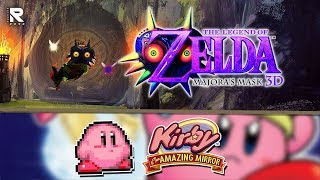 MARTES DE ZELDA! TLOZ: Majora's Mask 3D / Kirby & The Amazing Mirror EN VIVO