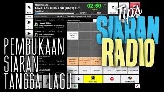 DJ Arie - Contoh Pembukaan  Siaran Tangga Lagu ( TOP 20 Radio Aircheck)