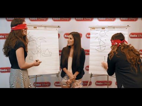 Hailee Steinfeld Blindfolded Drawing | Radio Disney