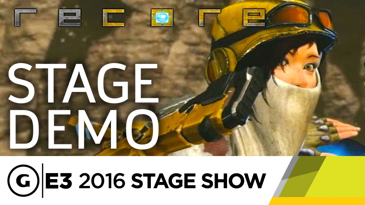 Joule Bots And The Lore Of ReCore E3 2016 Stage Show