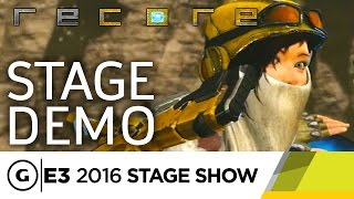 Joule, Bots, and the Lore of ReCore - E3 2016 Stage Show