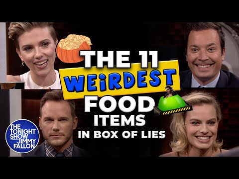 The 11 Weirdest Food Items in Box of Lies