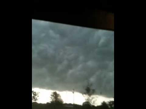 Tornado in Terrell Texas