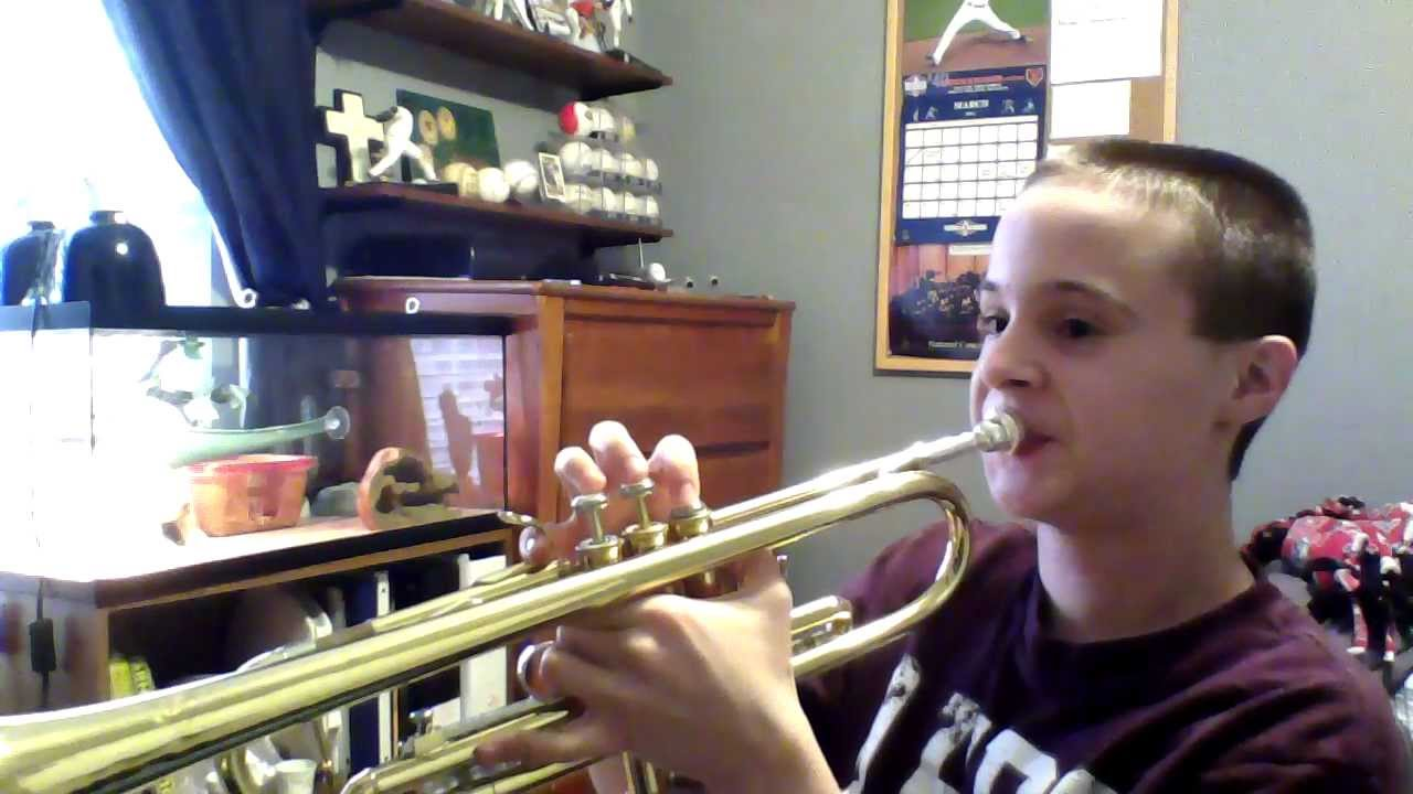 how to play thrift shop on trumpet