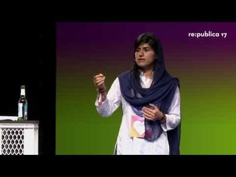 """re:publica 2017 - Samira Hayat: From killing to healing: A tool called """"Drone"""""""