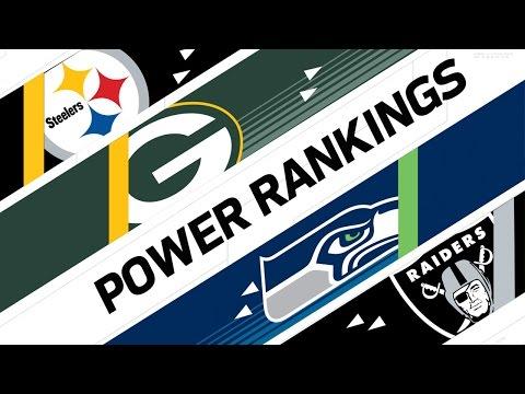 Week 17 Power Rankings | NFL NOW