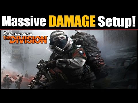 The Division: How to Increase Damage MASSIVELY! | This Makes Challenge Mode Easy!