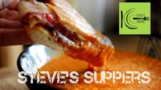 Grilled Prosciutto And Provolone Panini With Tomato Soup (steve's Suppers)